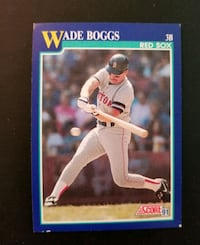 1991 Score Wade Boggs Red Sox baseball card  New Port Richey, 34655