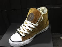 sneaker marrone alta Louis Vuitton