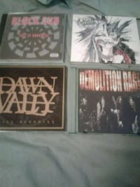 INDIE BANDS  4 GREAT CDS Toronto, M9C