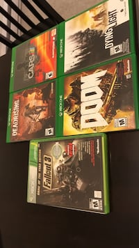 four Xbox One game cases Nanaimo, V9T 5J7