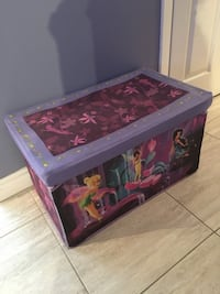 Material fairy toy box