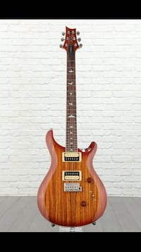 PRS SE Limited run of African zebrawood & Marshall MG50CFX AMP&2pedals
