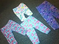 pink, blue, and white floral pants Anderson, 96007