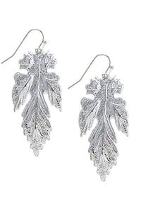 Silver Leaf Earrings (New) Livermore, 94550