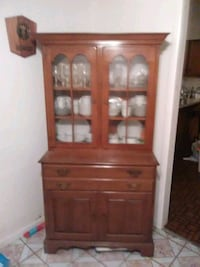 Old solid wood China cabnet Portsmouth