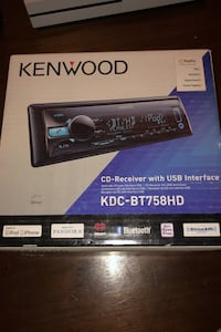 Kenwood Bluetooth/CD/USB Car stereo/head unit