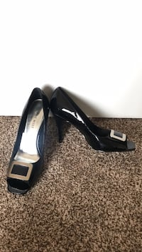 New Nine West heels 9 black open toe Edmonton, T6V 0G1