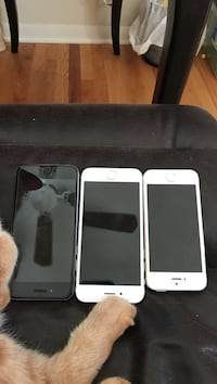 Iphones 6 with 64gb and iphone 5 AT&T iphones