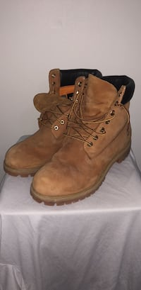 pair of brown Timberland work boots Halifax, B3Z 2E9