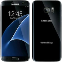 black Samsung Galaxy S7 edge Frederick, 21702