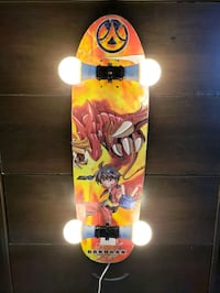Bakugan Skateboard lamp Chicago