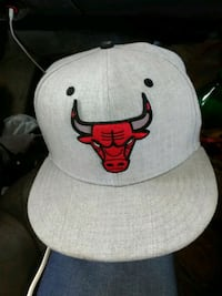 white Chicago Bulls fitted cap Fayetteville, 28314