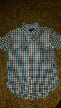 Boys chaps button up size 7.