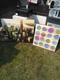 2 printed Canvases Edmonton, T5A 0R2