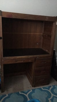 solid wood desk Chesterfield, 23832