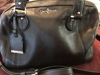 Black Leather Handbag – Cole Haan Vienna