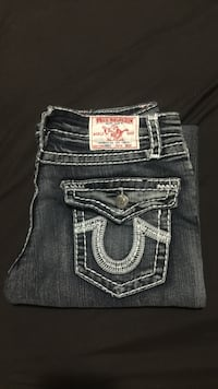 Grey True Religion jeans Surrey, V3T 2C1