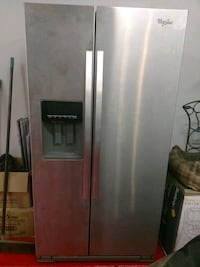 stainless steel side-by-side refrigerator with dis Gilbert, 85234
