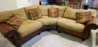 brown and white sectional couch Austin, 78704
