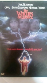 Witches of Eastwick DVD Glendale Heights, 60139