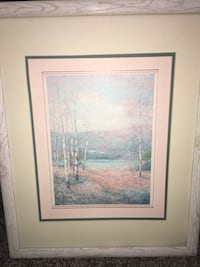 Framed and matted, signed antique print by Nora De Bolt. Nora De Bolt's work hasn't been reprinted for a very, very long time. They are highly desirable and very pricy if you can find them in good condition, framed and matted. Henderson, 89015
