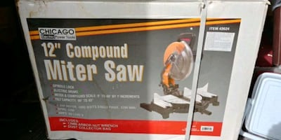 Miter Saw and Roller Stands