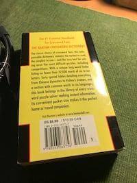 yellow and black labeled book Robinson, 76655