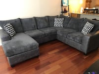 Couch Sectional (Charcoal)