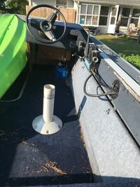 1989 smoker craft 115 Mercury Motor 17ft   Plus trailer includes title for both boat and trailer Rockford, 61103