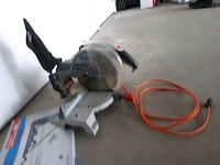 gray and red miter saw Edmonton, T6R 0S1