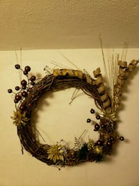 Gold Branch Wreath  Middletown, 45044