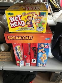 Assorted Board games.  Mississauga, L5E 1Y5
