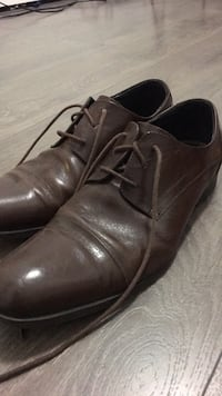 Kenneth Cole Brown Leather Dress Shoes Men Size 10 Burnaby, V3N 2M7
