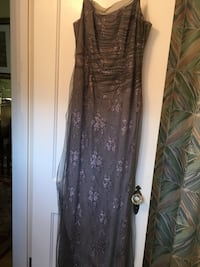 Liancarlo couture Lavender and grey long gown Chevy Chase, 20815