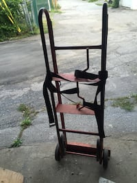 Hand truck for moving stuff. In good condition.