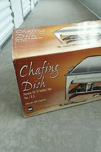 CHAFING DISH! Great for holidays