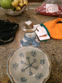 Snowman candy dish Hampstead, 21074