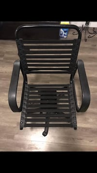 Black and brown wooden armchair Maple Ridge, V2W
