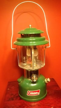 Coleman 220J Double Mantle Lantern with box and manual