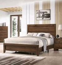 Brand New✔Millie Cherry Queen Panel Bed✔ Jessup, 20794