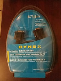 Dynex PC Monitor Extension Cable