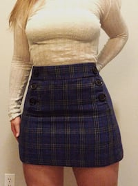 Women's plaid skirt. Size 4 Austin, 78723