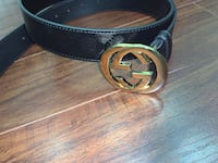 Black and gold Gucci belt  Caledon