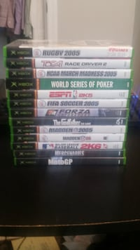 13 XBOX Games FALLSCHURCH