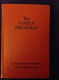"""Vintage medical book-""""The FamilyPhysician Book"""" 1951 Yonkers, 10705"""