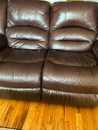 Three seater Brown Recliner Sofaset plus Love seat, need to sell fast!  CHICAGO