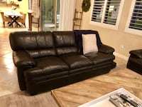 Chocolate Leather Sofa Las Vegas, 89149