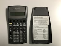 Black texas instruments ti-84 plus calculator Sterling