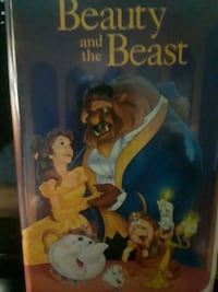 Beauty and the Beast VHS tape Burke, 22015