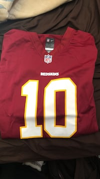 Nike Official NFL Home Redskins RGIII Jersey XL Athens